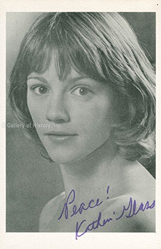 Katherine Glass Photograph Signed 03/27/1975