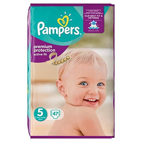 Pampers Active Fit Taille 5 11 A 25 Kg 47 Couches Amazoncouk Baby