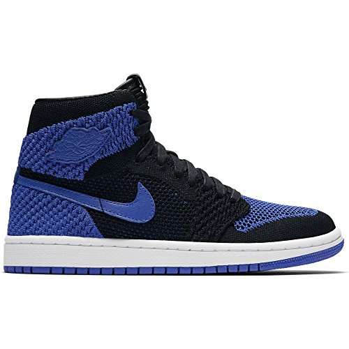 - Jordan Nike Kids Air 1 Ret Hi Flyknit BG Basketball Shoe 6 Black