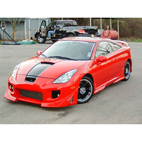 (Toyota Celica 2000-2005 Blits Style 1 Piece Polyurethane Front Bumper manufactured by KBD Body Kits. Extremely Durable, Easy Installation, Guaranteed Fitment and Made in the)