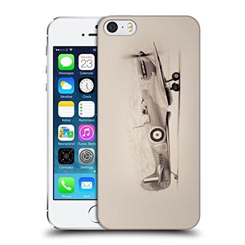 Officiel Graham Bradshaw Avion Illustrations Étui Coque D'Arrière Rigide Pour Apple iPhone 5 / 5s / SE