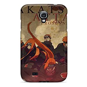 New Arrival Cover Case With Nice Design For Galaxy S4- Naruto Shippuden Akatsuki Pein