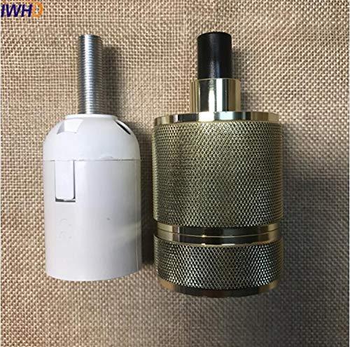 Kamas 20pcs E27 Lamp Holder Vintage E27 Socket Lampholder Edison Lamp Base Socket Loft For Industrial Pendant Light Style - (Color: Style H)