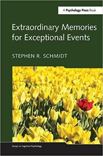 extraordinary memories for exceptional events essays in cognitive  extraordinary memories for exceptional events essays in cognitive  psychology st edition