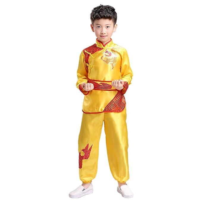 Meijunter - Chándal - para Hombre Amarillo Amarillo Etiqueta 120 ...