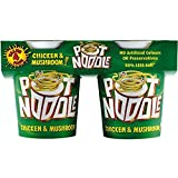Pot Noodle Chicken & Mushroom Flavour (4x90g) - Pack of 6