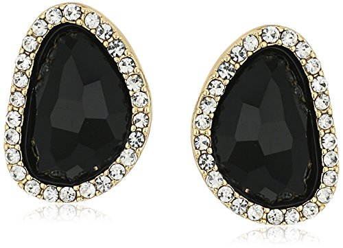 t-tahari-faceted-stone-button-gold-stud-earrings