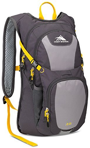 High Sierra Longshot 70 Hydration Pack, Mercury/Ash/Yell-O [並行輸入品] B07DVKDKRC