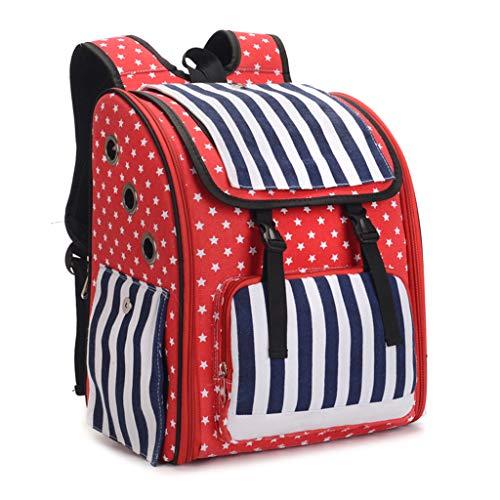 New Respctful ♫♫Pet Portable Carrier Space Capsule Backpack,Multiple Air Vents Waterproof Handbag for Petite Dogs ()