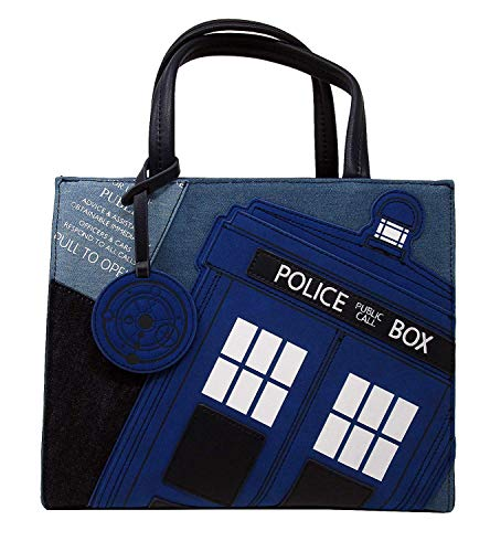 Loungefly x Dr Who Tardis Denim Tote Bag -