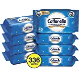 Toys : Cottonelle FreshCare Flushable Wipes for Adults, Wet Wipes, Alcohol Free, 336 Wet Wipes per Pack (Eight 42-Count Resealable Soft Packs)