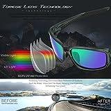 TOREGE Polarized Sports Sunglasses for Man Women