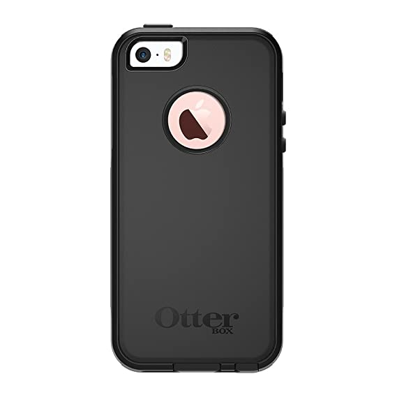 new arrivals b6653 f2208 OtterBox COMMUTER SERIES Case for iPhone 5/5s/SE - Frustration Free  Packaging - BLACK