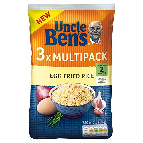 (Uncle Bens Egg Fried Rice Multipack 3 x 250g)