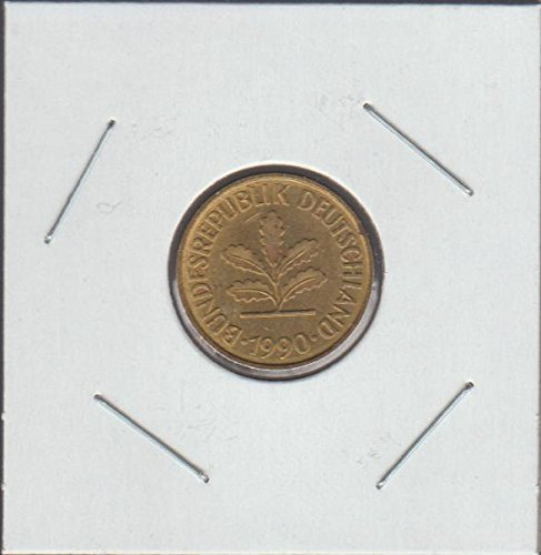 1990 Germany Five Oak Leaves Nickel Choice Fine ()
