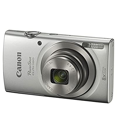 Canon PowerShot ELPH 180 Digital Camera- Accessory Bundle by Canon