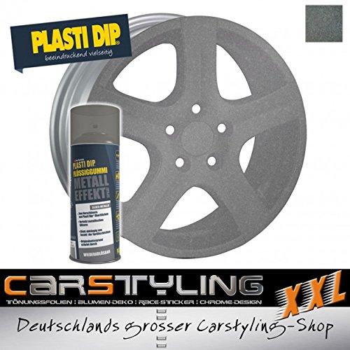 Pulvérisation de caoutchouc liquide Plasti Dip, argent métallique ... également êtra utilisé pour le corps argent métallique ... également êtra utilisé pour le corps carstyling-xxl.com