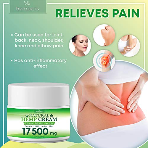 51STjHR2OGL - BLOOMCROP Organic Hemp Pain Relief Extract 17 500 Mg, Made in USA, Non-GMO, Natural Hemp Oil for Pain Relief