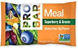 green bars - PROBAR - Meal Bar, Superberry & Greens, 3 Oz, 12 Count - Plant-Based Whole Food Ingredients