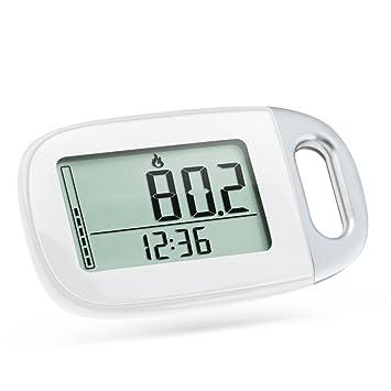 Lixada 3D Digital Sensor Podómetro Pantalla LCD Seguimiento Pasos Caminar Fitness Distancia Calorías Contador Tracker