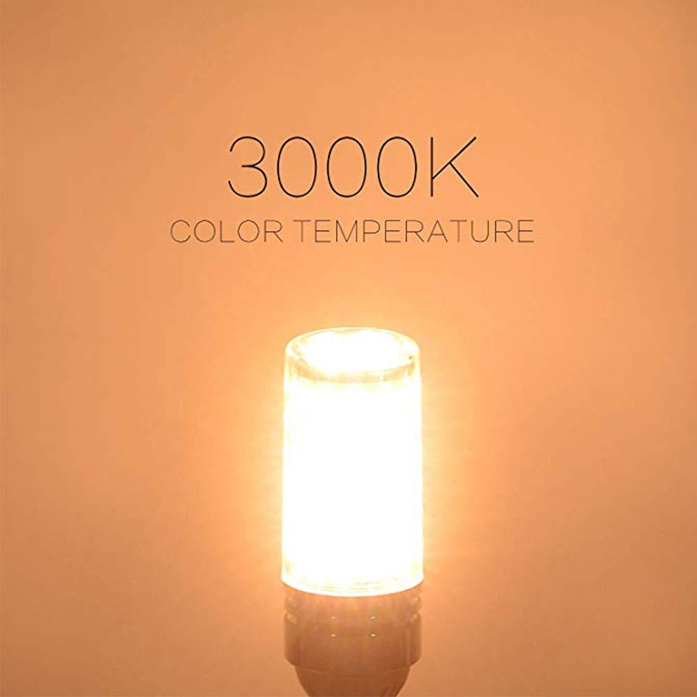 No regulable 1500Lm 15W Blanco C/álido 3000K 120W Incandescente Bombillas Equivalentes E27 LED ma/íz bombilla 4 unidades Edison tornillo bombillas