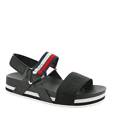 1ac8fb2fdba Women s shoes · Tommy Hilfiger SEASIDE 4 Women Shoes Sandals Wedges Tommy  Navy · Tommy ...
