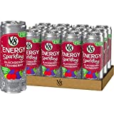 v8 fusion energy drink - V8 +Energy, Juice Drink with Green Tea, Sparkling Blackberry Cranberry, 12 oz. Can (Pack of 12)