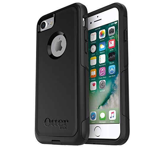 Otterbox Commuter Series Case - OtterBox COMMUTER SERIES Case for iPhone 7 (ONLY) - Retail Packaging - BLACK
