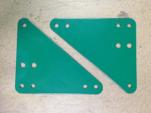 Swingset Frame Corner Bracket Brace Plates (pair) - Triangle Bracket