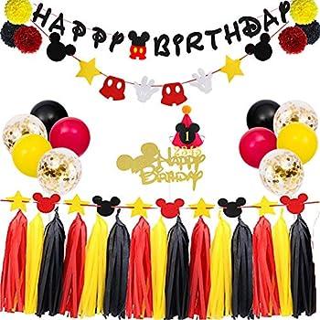 Amazon.com: Mickey Mouse - Kit de decoración de cartel de ...