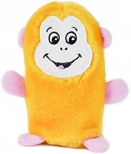 ZippyPaws Squeakie Buddies Monkey 14 X 7.5cm