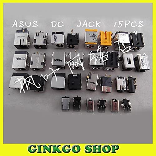 Gimax Wholesales 15Models 75pcs DC Jack Connector DC power sockect for ASUS Serial laptop