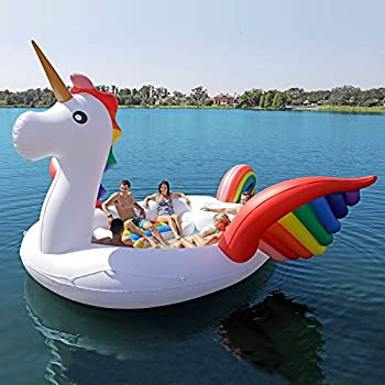 Party Bird Island - Unicorn - Over 9 Feet High