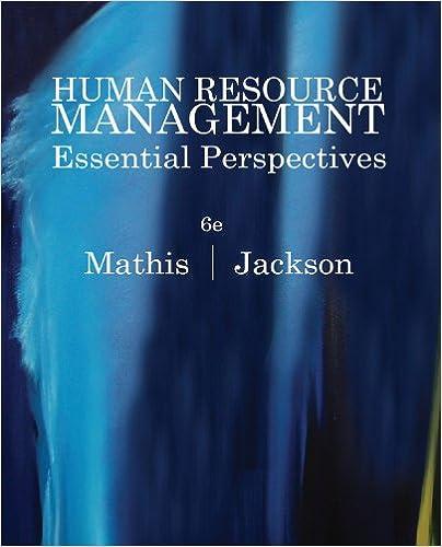 Amazon human resource management essential perspectives ebook human resource management essential perspectives 6th edition kindle edition fandeluxe Gallery