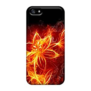 Fashion THKTkLf3300yJVyP Case Cover For Iphone 5/5s(fire Flower)