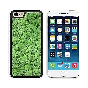 Clover Field Irish Lucky 3DCom iPhone 6 Cover Premium Aluminium Design TPU Case Open Ports Customized Made to Order