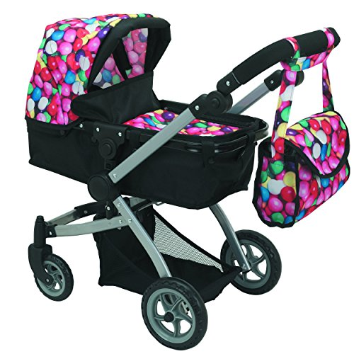 Silver Cross Dolls Pram Black - 3