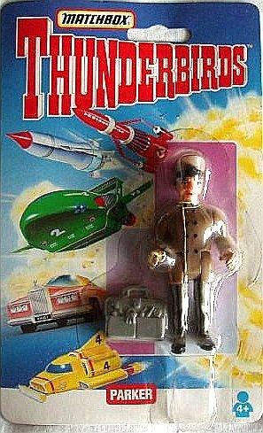 Parker Action Figure with Parker's Safe Cracking Bag - 1994 Matchbox Thunderbirds Series
