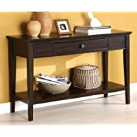 Furniture of America Eastern Sofa Table, Dark Cherry