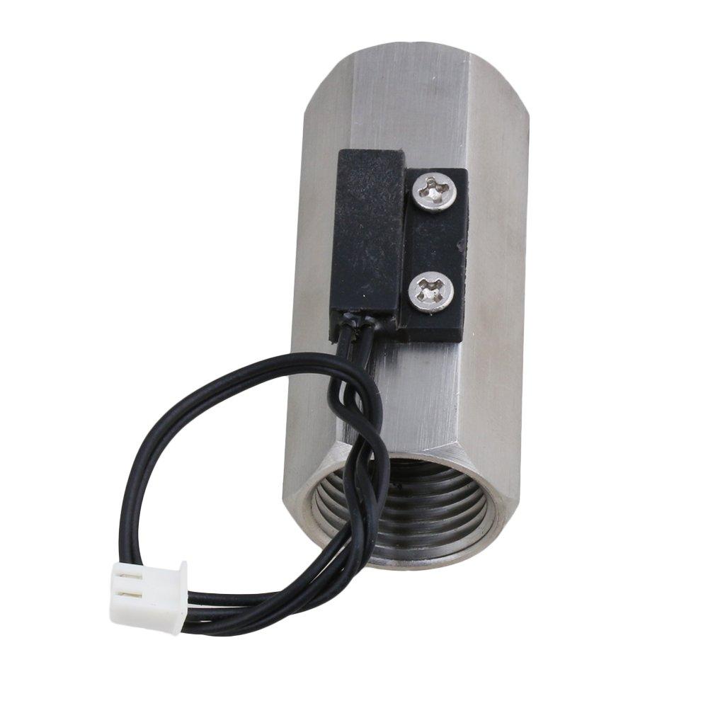 BQLZR Water Flow Switch Magnetic Stainless Steel Water Sensor N01484