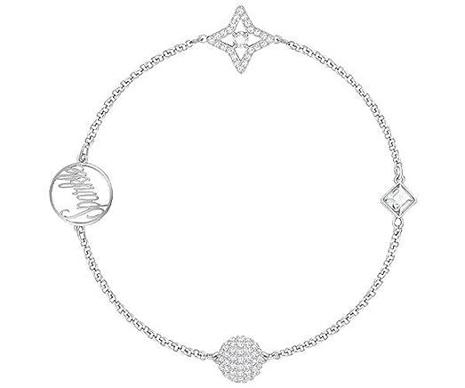 Swarovski Remix Collection Star, White, Rhodium plating