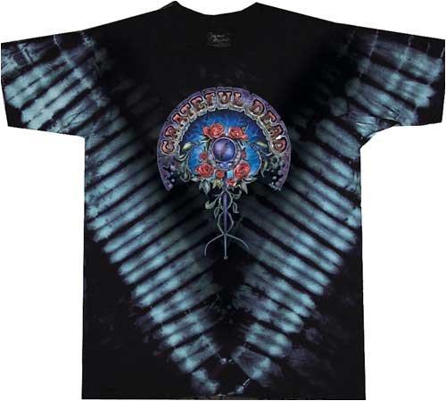 Grateful Dead SCEPTOR V-Dye Adult Classic T-shirt, - Heavyweight Dead Grateful T-shirt