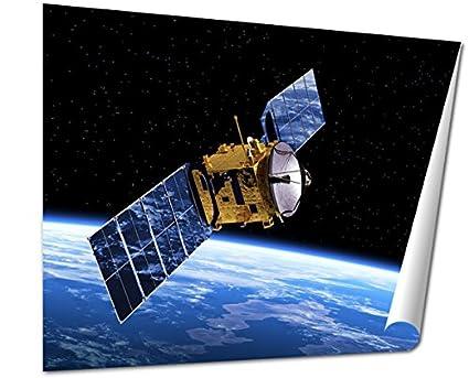 amazon com ashley giclee fine art print communication satellite