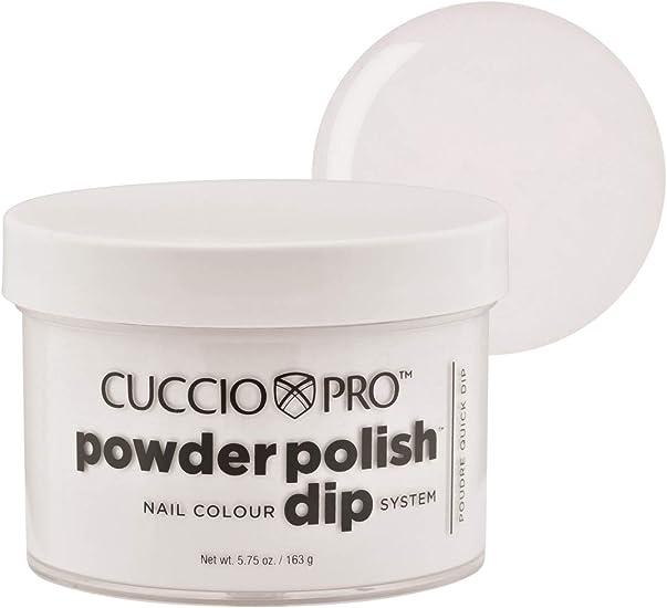 Cuccio - Polvo para uñas de color blanco: Amazon.es: Belleza