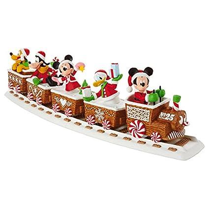 4515ce4040 Amazon.com  Hallmark 2016 Disney Express Christmas Train Full ...