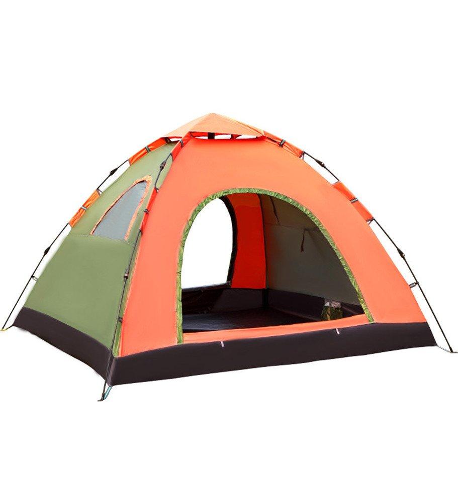 RFVBNM Zelt im Freien 3-4 hydraulische Frühling automatische Camping wild Camping Strand Reisen Familienzelt 215  215  135cm