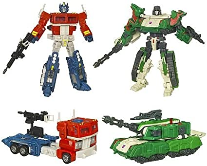 Transformers Classics Optimus Prime Complete Deluxe Ultimate Battle