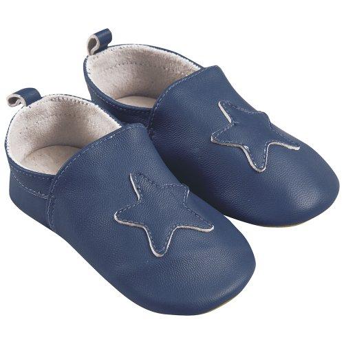 JoJo Maman Bébé A6928NAV06 - zapatos para bebés, la razón: la estrella, color: azul marino