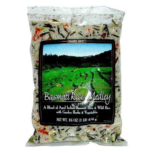 Trader Joe's Basmati & Wild Rice Medley with Garden Herbs & Vegetables By Organic Market Cart (2 LBS)