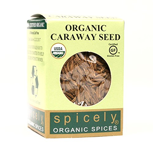 Photo of Spicely Organic Caraway Seeds Whole